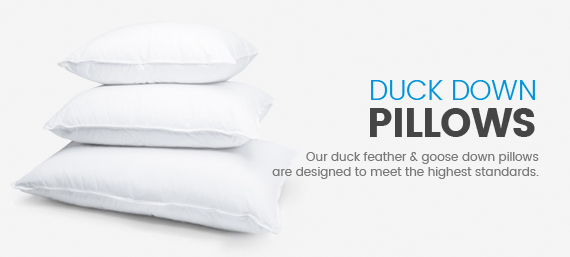 Duck-Down Pillows Australia buy online melbourne superior quilt